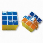 Advertisement Magic Cube with PVC Surface images