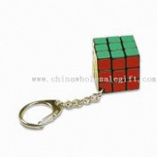 Magic Cube with keychain images