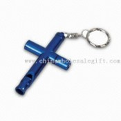 Multifunction Keychain with Whistle images