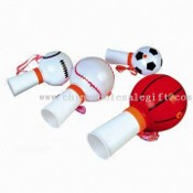 Whistle with Different Ball Designs and Various Pantone Colors images