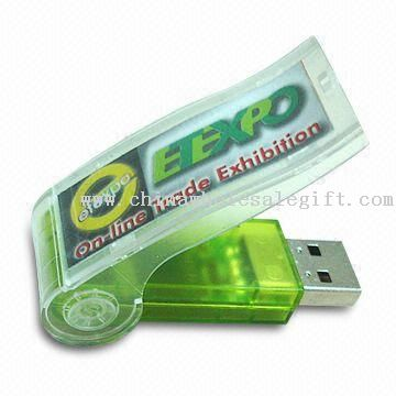 USB Whistle Style Flash Drives with Minimum Data Retention of 10