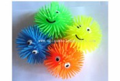 LED smile face puffer ball images