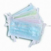 Disposable 3-ply Tie-on Face Masks images