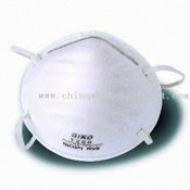 Pig Flue approved Disposable Face Mask with Foam Nose Cushion Wedge images