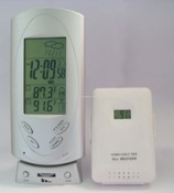 Wireless Weather Station Clock with FM Auto Scan Radio images