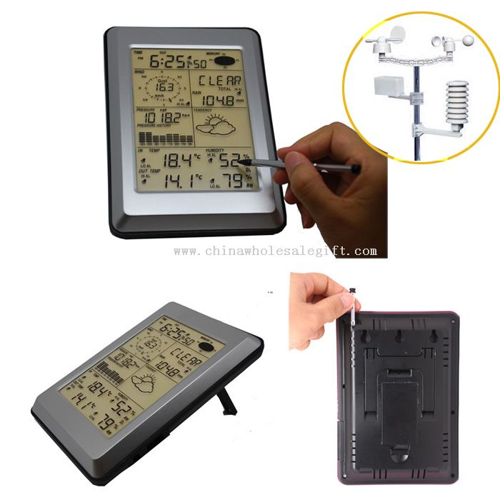 Touch screen panel professional weather station