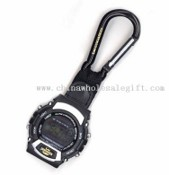 CLIP WATCH, DIGITAL STYLE, WITH CARABINA images