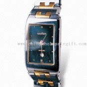 Tungsten Fashion Watch with Sapphire Glass and Adjustable Strap images