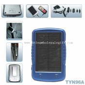 Solar charger with clip images