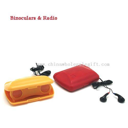 Binocular with Radio