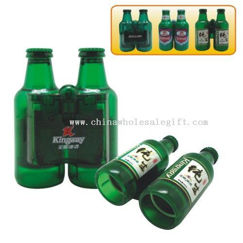 Bottle shape binoculars