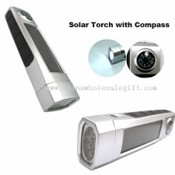 Solar flashlight with Compass images