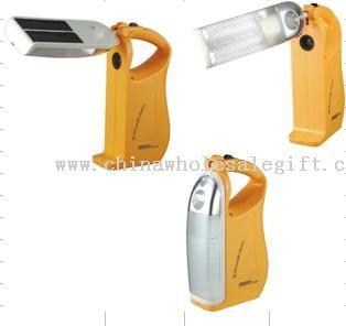 Solar camping lighting