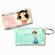 Note Pad with Keyring images