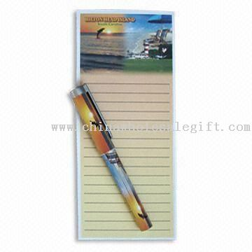 Notepad with Magnet Rubber