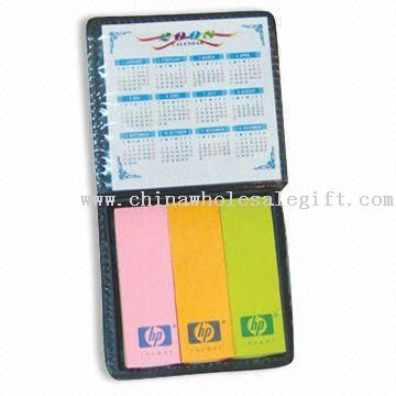 Sticky Note Pad with PU Leather Box