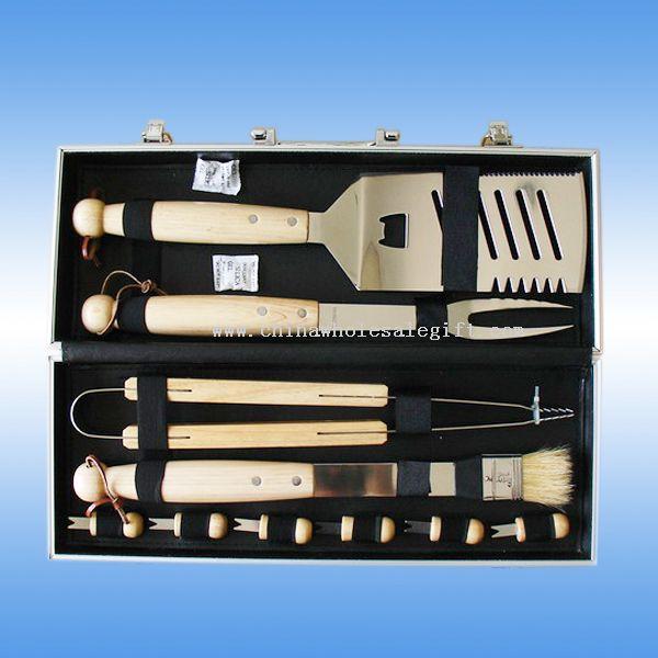 10 pcs bbq tool set