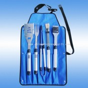 5 pcs bbq tool set images