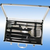 7 pcs bbq tool set images
