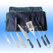 built-up Stainless Steel Barbecue Tool Set images