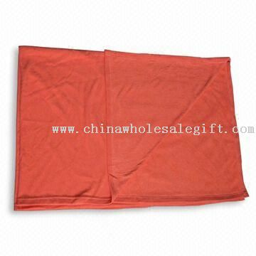 100% Polyester Fleece Airline Blanket with Anti-pilling Side