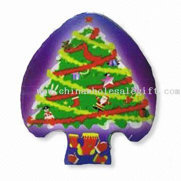 Christmas Tree-shaped Compressed T-shirt
