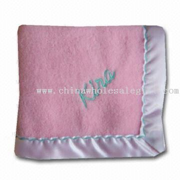 Lovely Baby Blanket with Printing or Embroidery