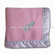 Lovely Baby Blanket with Printing or Embroidery images