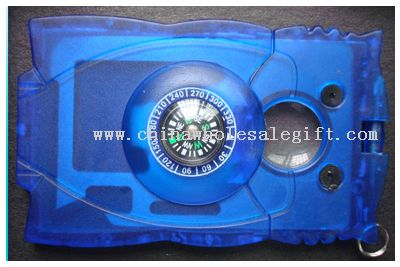 multifunction card with magnifier