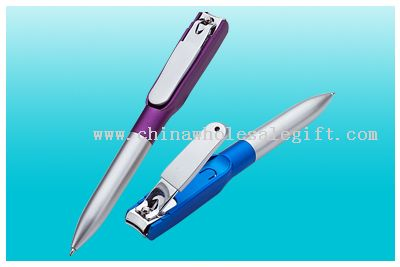 Nail Clippers Ballpoint Pen