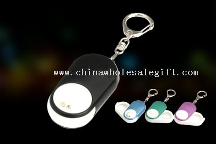 LED KECHAINI WITH MAGNIFIER