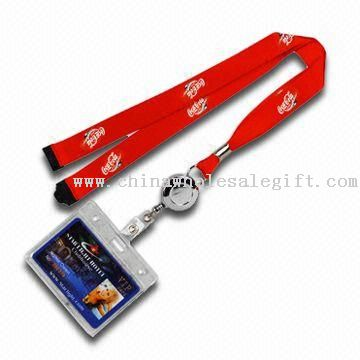 Nylon Lanyard with PVC Card Holder