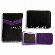 Card Holder with Clear Card Windows images