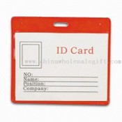 Transparent ID Card Holder images