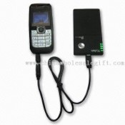 Mobile Phone Battery Charger, Provides Power Supply to Mobile Phone, MP3, and MP4 Players images