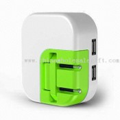 Universal USB Charger for iPhone, iPod, MP3/4, Mobile Phone, and PDA images
