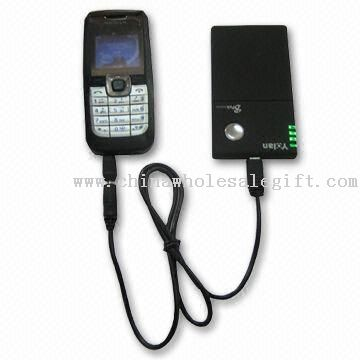 Mobile Phone Battery Charger, Provides Power Supply to Mobile Phone, MP3, and MP4 Players