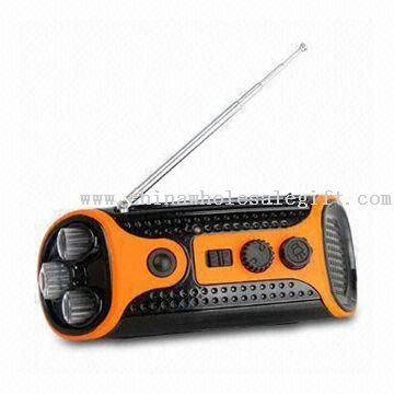 Solar Radio with LED Light