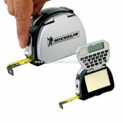 Promotional 4-in-1 Tape Measure/Pad/Calculator/Light images