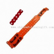 WRIST BAND SERIES-4 Bracelet with Unrepeatable Snap Button Design and Made of PVC or TPU images