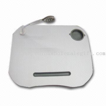 Портативный ноутбук стол стенда с гибкие светодиодные придает