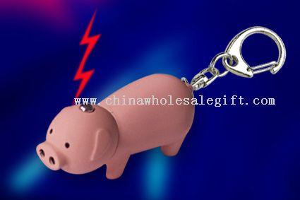 shocking pig