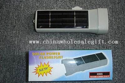 Plastic Solar Torch