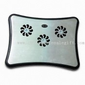 3-fan Notebook Cooling Pad with Light Indicator and Low Noise images