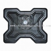 Laptop Cooling Pad with Aluminum Panel and Plastic Body images