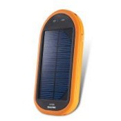 Solar Charger with Internal Battery, Used for Mobile Phones, MP3 Players, Cameras, and iPod images
