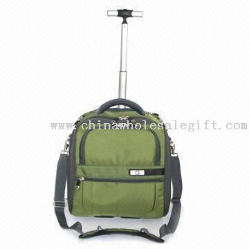 Multi-compartment Wheeled Laptop Backpack