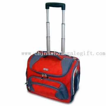 Rolling and Trolley Computer Bag with Retractable Handle