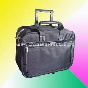 Trolley Business Computer Bag Made of 1680D