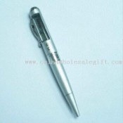 Information Rolling Advertising Pen with Metal Pocket Clip images